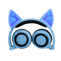 Bluetooth colors kids led cat kitty ear headphones