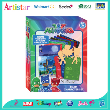 PJ MASKS create PJ Masks character set