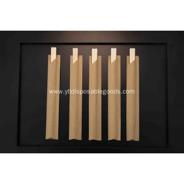 Disposable wooden chopsticks cutlery