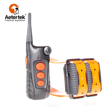 Aetertek AT-918C dog shock collar 2 ûntfangers