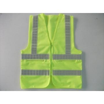 100% Polyester Safety Warning Reflective Vests