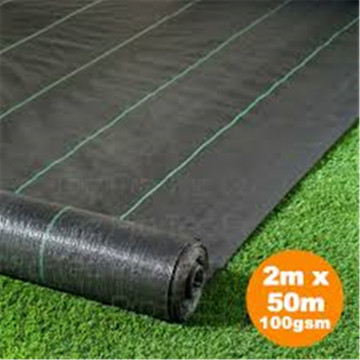 100GSM PP Woven Fabric Weed Mat Control