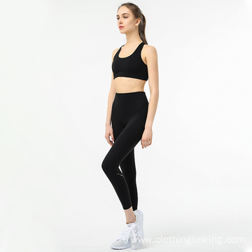 Sports Bra and Legging Pants Yoga Set Outfits