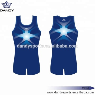 Oanpaste Sublimated Boys Gymnastics Leotard
