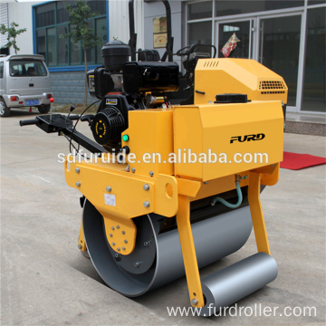 High quality small manual hand guided vibrating road roller High quality small manual hand guided vibrating road roller FYL-700