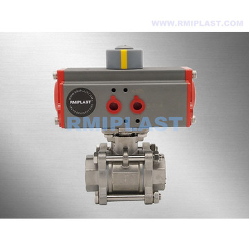 "Double Acting Pneumatic Ball Valve 2"" 2-1/2"" 3"""