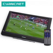 LEADSTAR D12 inch HD Portable TV DVB-T2 ATSC ISDB-T tdt Digital and Analog mini small Car Television Support USB SD Card MP4 AC3