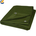 High density Dark Green Polyester Tarp Cover Sheet