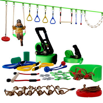 Outdoor Fun Training Equipment Obstacle Course Set