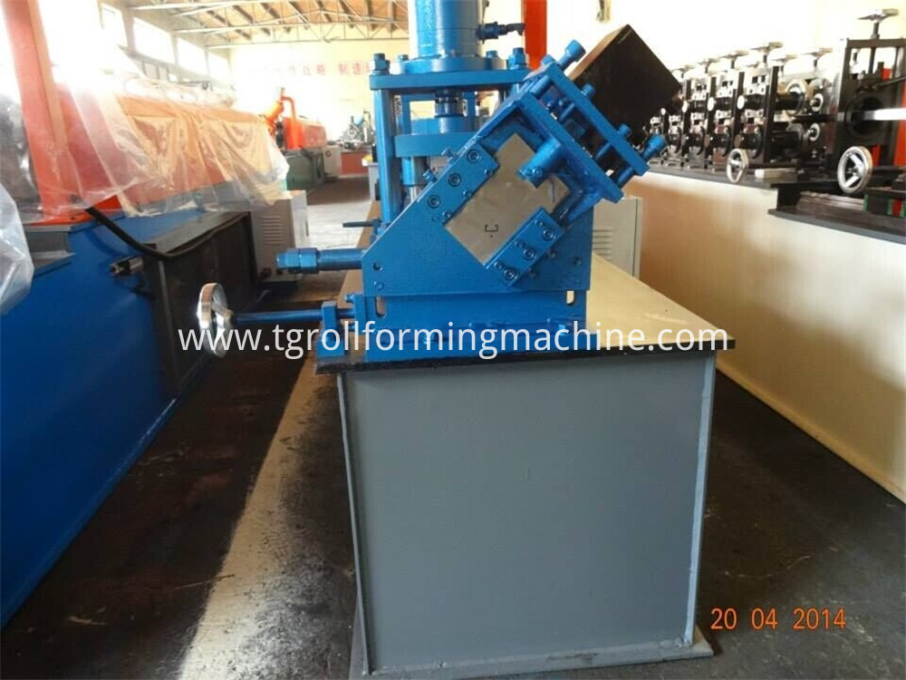 C Channel Hole Punching Machine