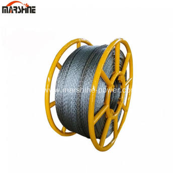 210KN Breaking Load Galvanized Anti Twist Wire Rope