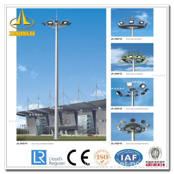 Steel Otcagonal High Mast Lighting Pole