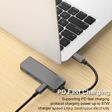4 In 1 USB C HUB To HDMI