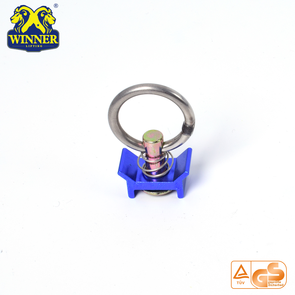 Factory Price Aluminum Base Single Stud Fitting With SS O Ring