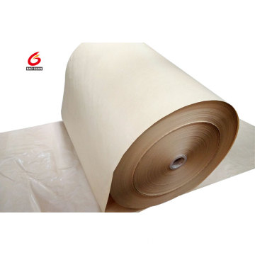 PE silicone coated brown release kraft paper