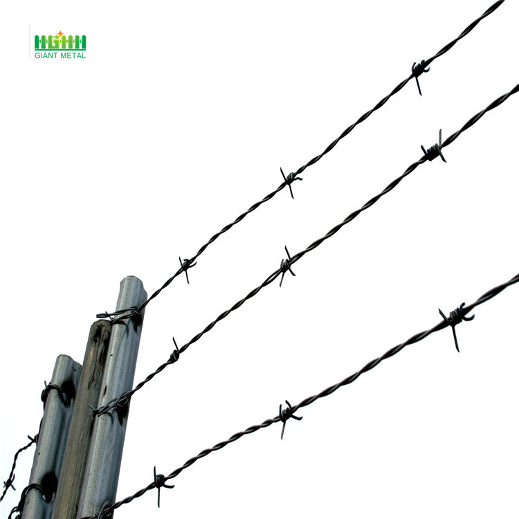 Barbed wire weight per meters