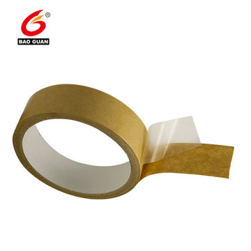 Eco friendly Reinforced Gummed Kraft Paper Tape For Packaging