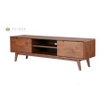 W1800 Solid Wood TV Stand sa mga drawer