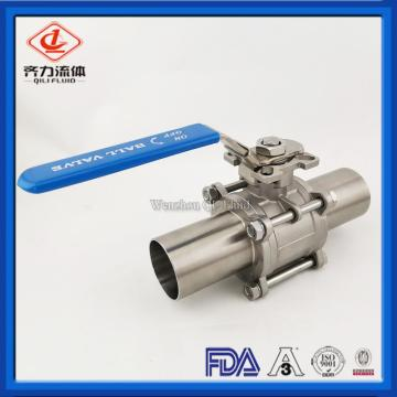 CF3M CF8M Two Way Weld Ball Valve