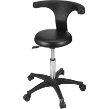Modern tool stool with swivel cushion facial chair