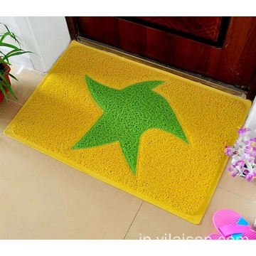 Custom different logos pvc coil door mat