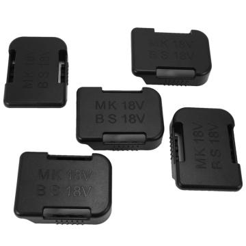 5Pcs 18V Battery Mounts Storage Shelf Rack Stand Holder Set for Makita Battery Protection Cover