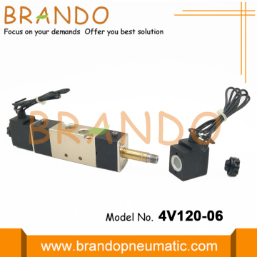 1/8'' 4V120-06 Pneumatic Valve Fully Automatic Machine