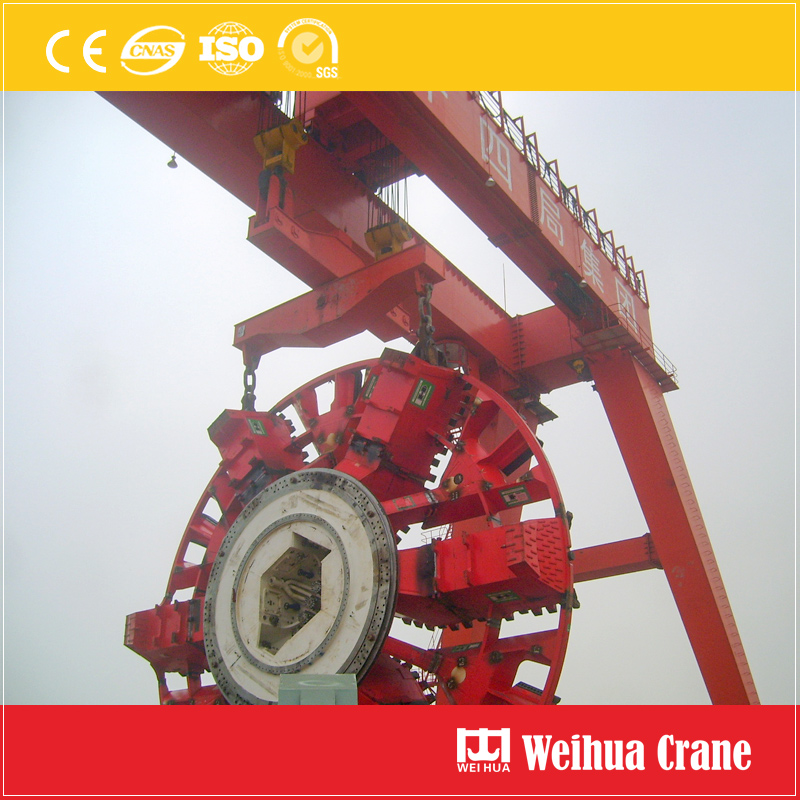 Tunnel Shield Gantry Crane 400t