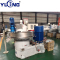 YULONG XGJ850 2.5-3.5T/H wood pellet making mill for selling