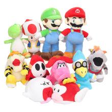 15cm Super Mario Bros Yoshi Boo Ghost Long Tongue White Mushroom mario plush toys Soft Stuffed Plush Doll kids