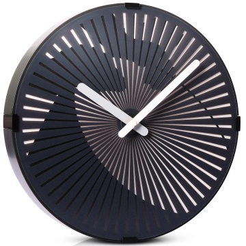 Modern  Black Wall Art Clock