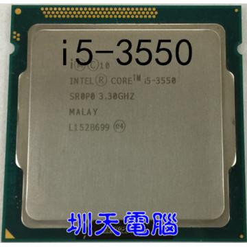 lntel CPU I5-3550 quad core 1155 pin I5 3550 CPU central processor cpu cooler i5 3550 can work