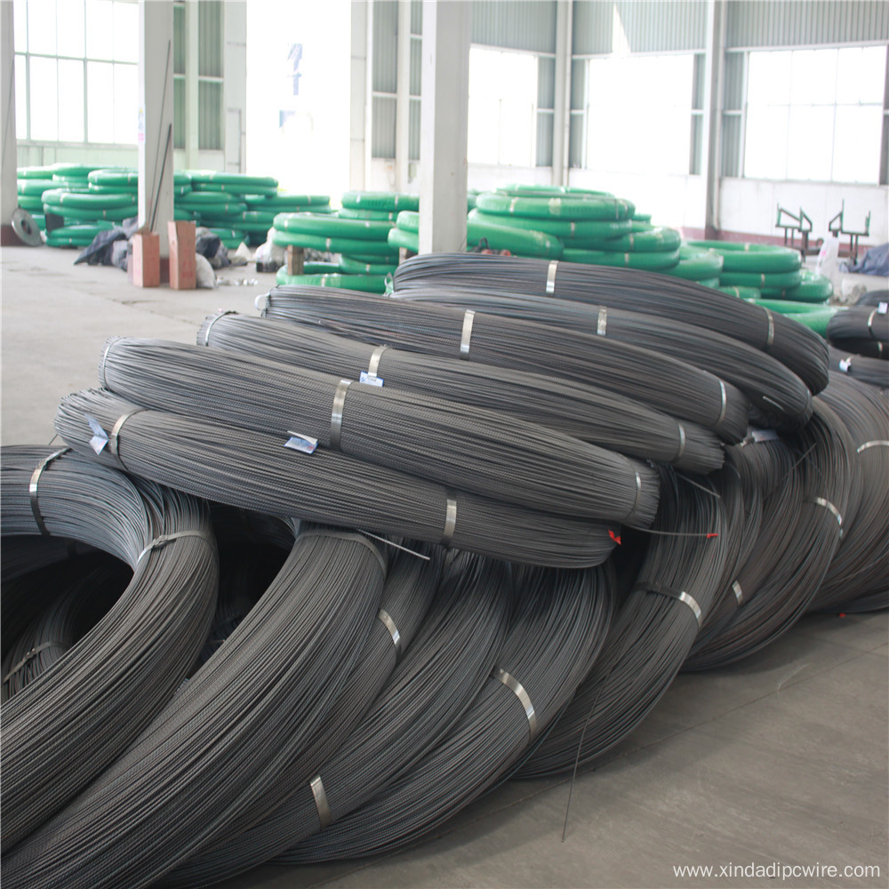 High Tensile Non Alloy Steel Spiral Wire