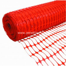 High strength orange safety net