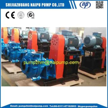 High chrome wet end horizontal slurry pumps
