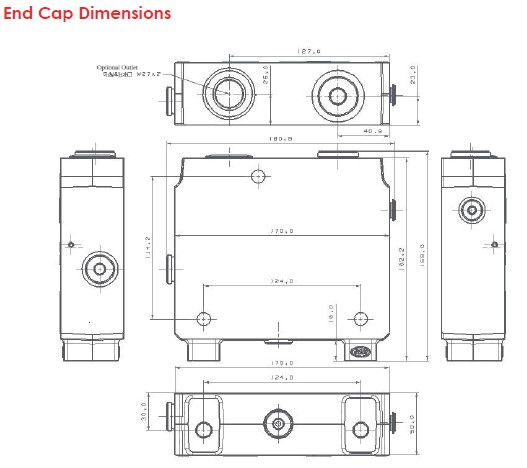 End Cap Dimensions