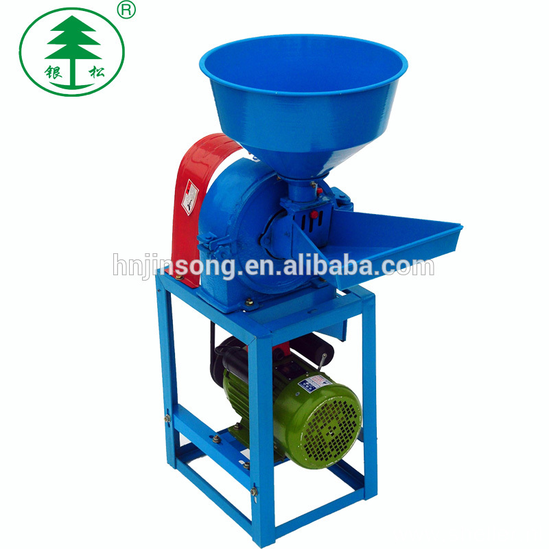 High Productivity Wheat Maize Corn Flour Spice Posho Dal Mill Machine