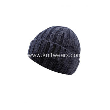 Boy's Girl's Knitted Rib Stretchable Winter Beanie Cap
