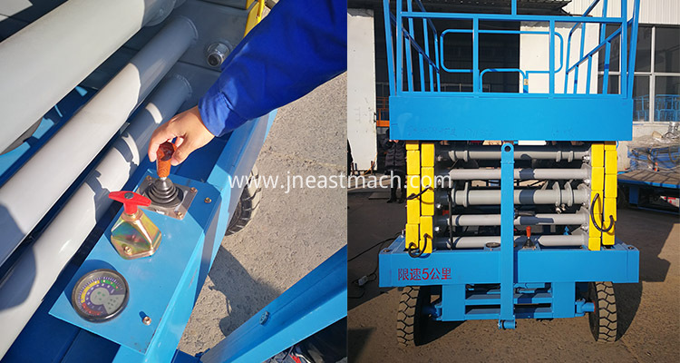High Quality China Supply Hydraulic Mobile Scissor Lift Electric Scissor Lift With 20m Height