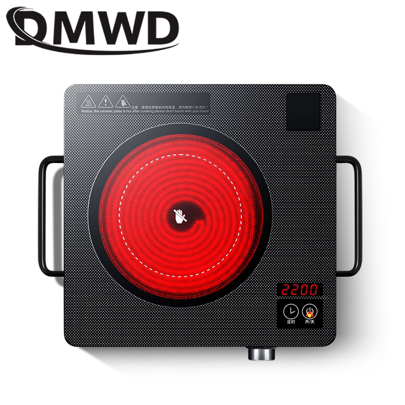 DMWD Electrical magnetic Waterproof induction cooker intelligent hot pot stove with timer ceramic induction household cooktop EU