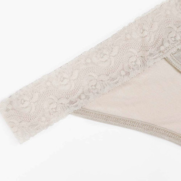 Thong Underwear Lace Hollowed Out T Low Waist