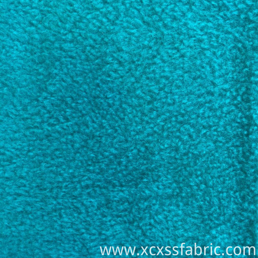 100% polyester dyed micro cheap polar fleece fabric