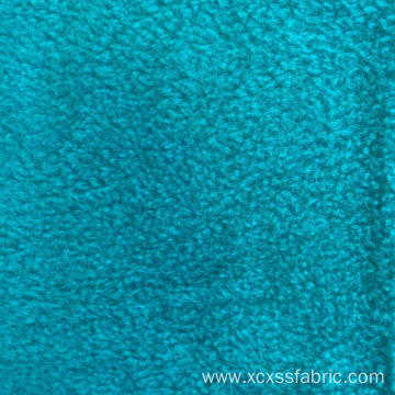 Polyester dyed solid micro cheap polar fleece fabric