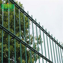 PVC coated front yard double wire mesh fence