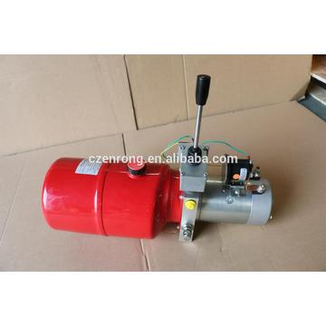 hydraulic system for lifting