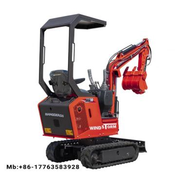 escavator machines mini excavator digger xn10