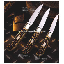 Imitation Bone Handle Knives Folding Pocket Knife