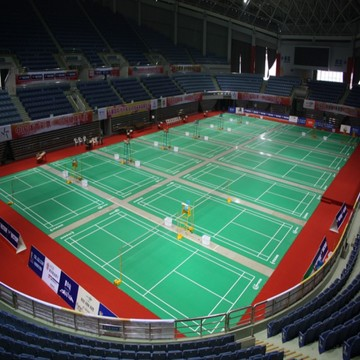 Badminton Flooring  BWF approved