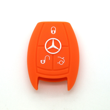 Silicone key cover for mercedes c class