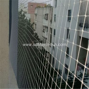 HDPE Knotted Square Hole Bird Netting
